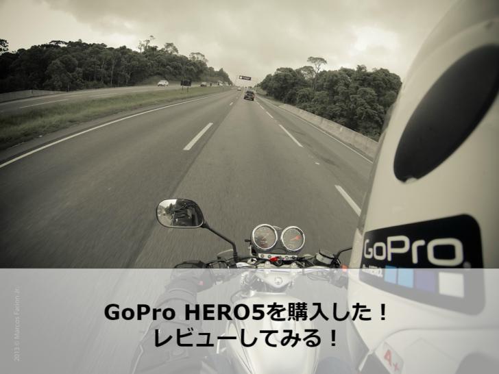 バイク gopro