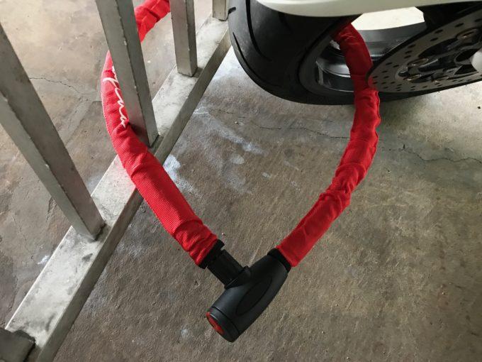 バイク用ロック