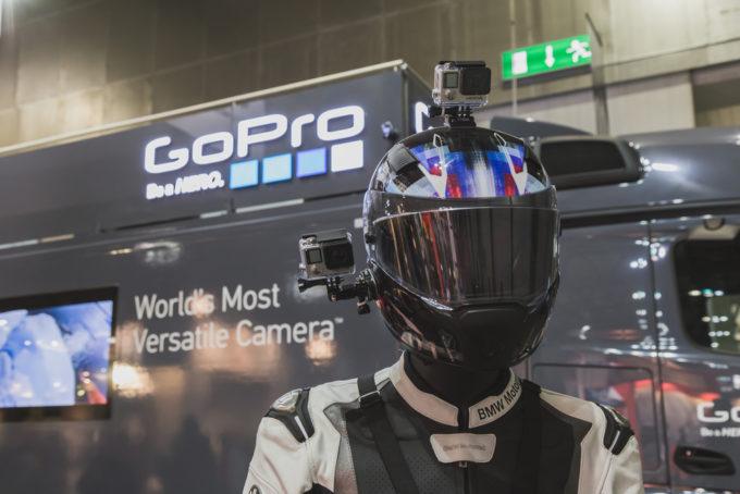 GoPro ヘルメットマウント